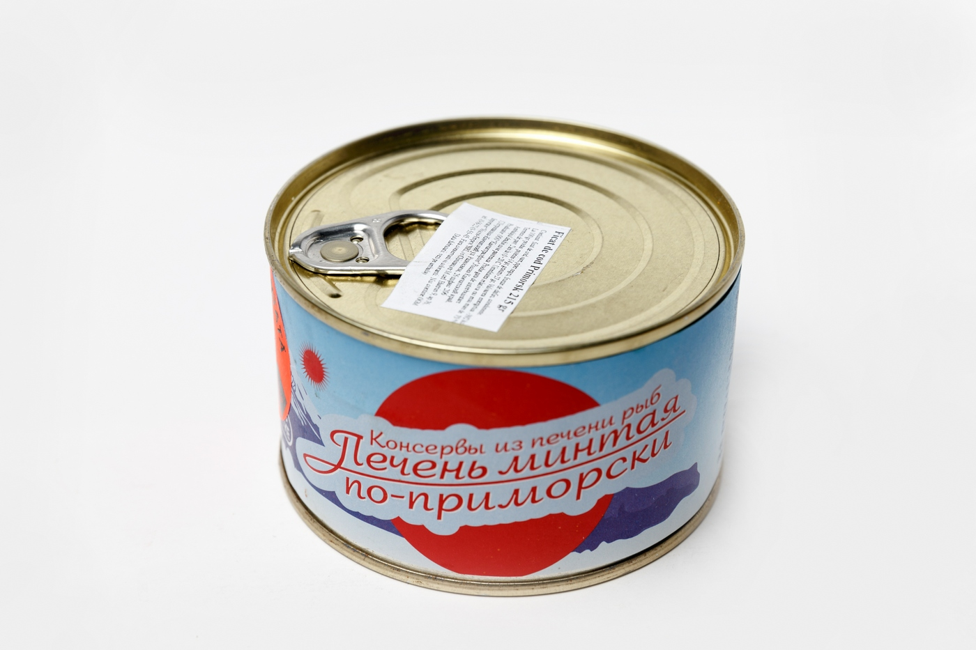 Печень минтая по-Приморски паштет Камчаттралфлот