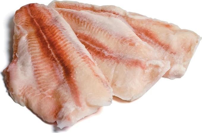Рыба филе Пангасиус замороженный 1кг