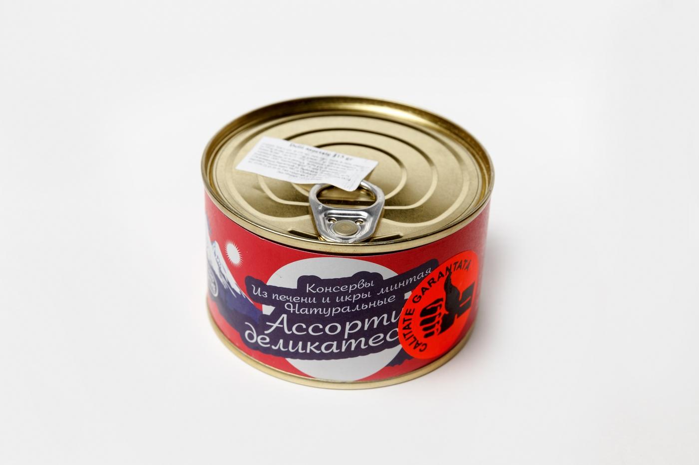 Ассорти деликатесов Камчаттралфлот