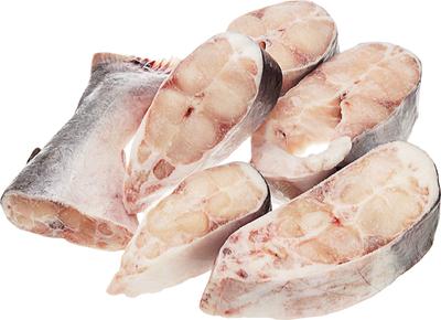 Рыба Мексиканский Хек стейки замороженный  1кг