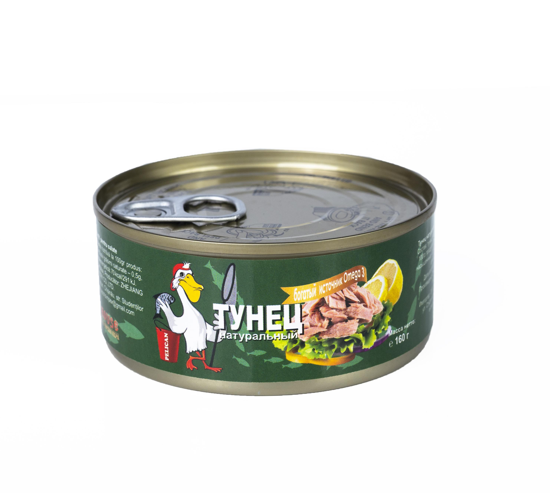 Ton p/u salate natur Pelican 160gr